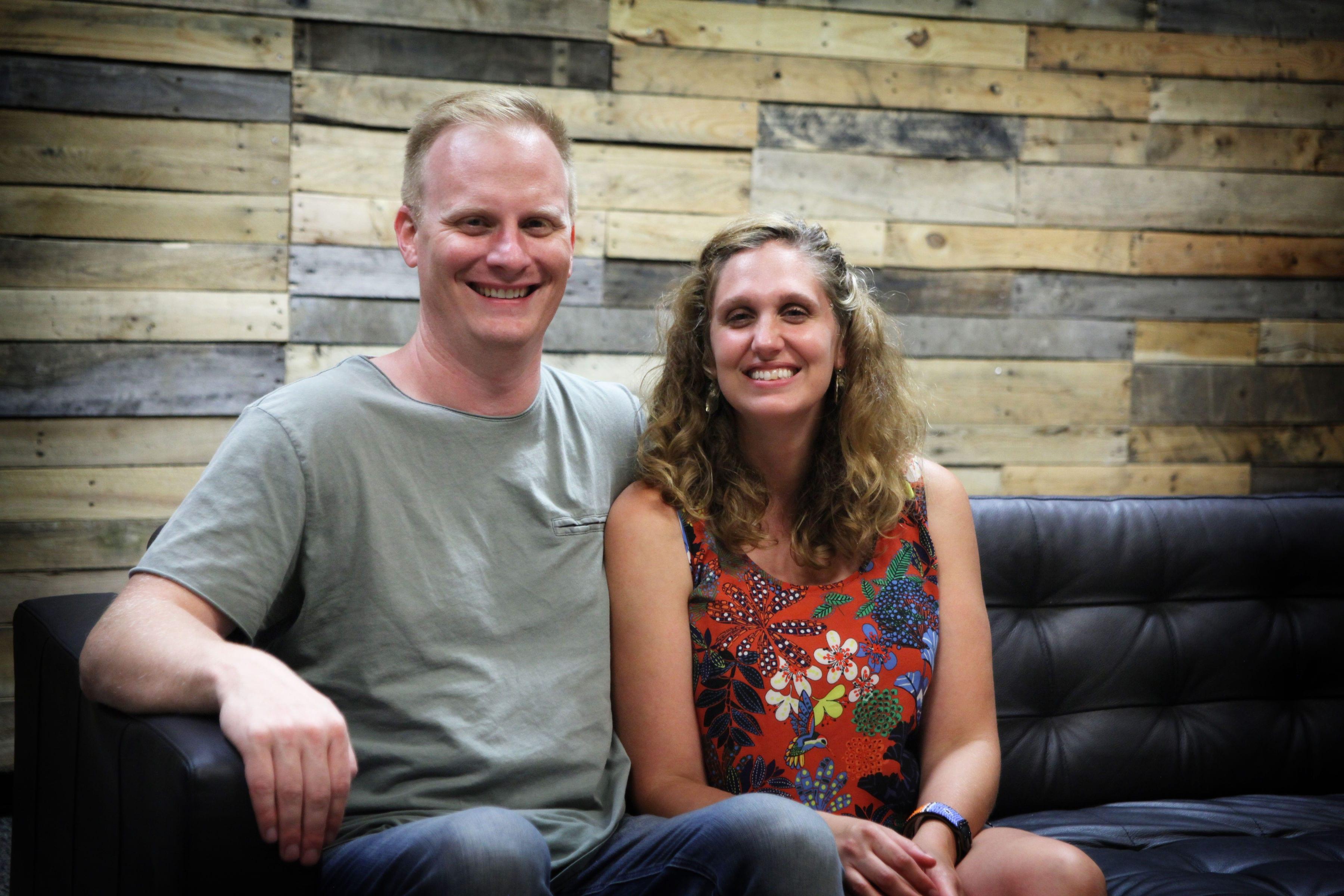 lead pastors Jeremy& Anna Brown
